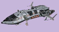 Space ship pro 3D Model