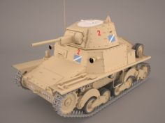 L6-40 Tank 3D Model
