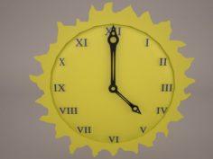 Sun Clock 3D Model