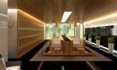 Foot Massage room 3D Model