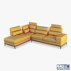 Avocado sofa 3D Model