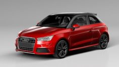 Audi S1 2016 3D Model