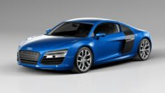 Audi R8 Plus 3D Model
