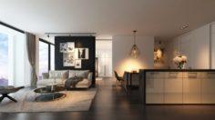 AP4 2 bedrooms 3D Model