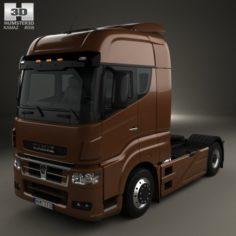 KamAZ 5490 S5 Tractor Truck 2014 3D Model