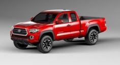 Toyota Tacoma TRD Off-Road 2016 3D Model