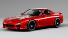 Mazda RX-7 R 3D Model