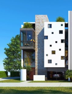 M house 3D Model
