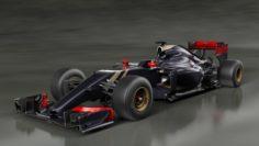 Lotus E23 Bolide Formula-1 3D Model