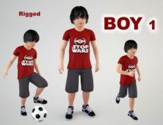 Boy 1 3D Model