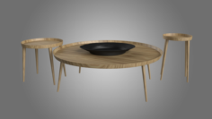 York Casa Coffee Table 3D Model
