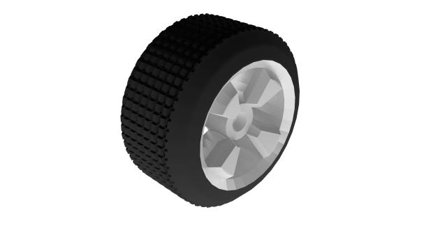 Wheel Free 3D Model