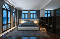 VCTT 3st Boy Bedroom 3D Model
