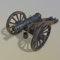 Cannon Unicorn 3D Model