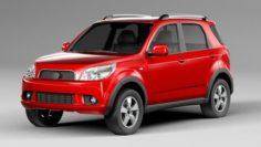 Toyota Rush 2006 3D Model