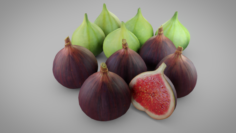 Fig Collection 3D Model