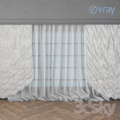 curtains_2                                      Free 3D Model
