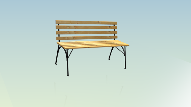 Bench demo Free 3D Model
