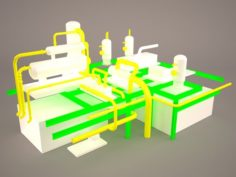 Piping 2 3D Model
