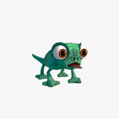 Lizard cartoon 3D Model