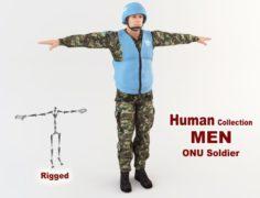 ONU Soldier 3D Model