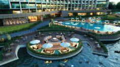 Hotel Outdoor 3D Model