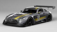 Mercedes-AMG GT3 3D Model