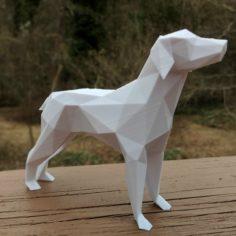 Low Poly Dog! 3D Print Model