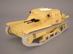 Ansaldo L3 35 3D Model