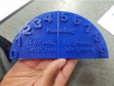 Rounding Hill for Elementary School Students 3D Print Model
