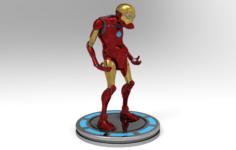 IRON MAN V1 3D Model