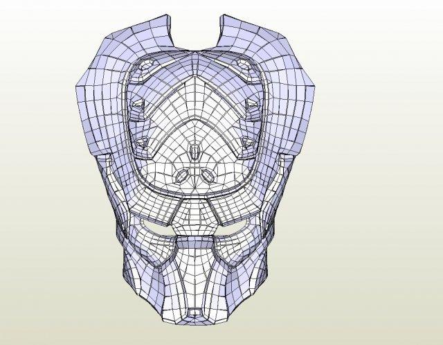 Predator Improved hunter 3D Model