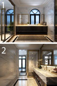 VCTT Bathrooms 3D Model