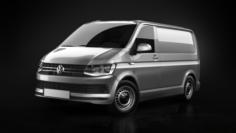 Volkswagen Transporter T6 Panel Van 2016 3D Model
