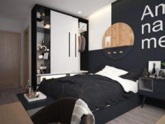 Bedroom Interior Vol 2 VR 3D Model