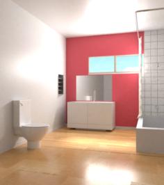 Bathroom Render Free Sample Free 3D Model