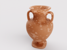 Ceramic old Pitcher 3D Model