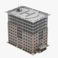Office Building 02 3D Model