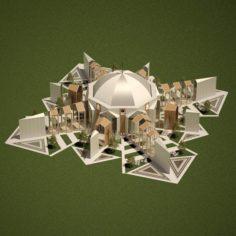 Millennium Church 3D Model