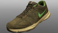 Old sneaker low poly 3D Model