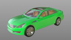 Car Detail Model 3D Model