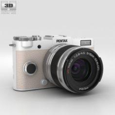Pentax Q-S1 Pure White 3D Model