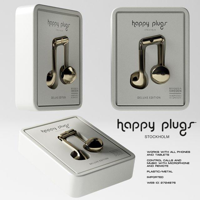Happy Plugs Earbud Plus 3D Model
