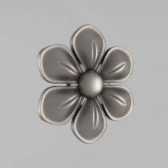 Carved rosettes decor 11 3D Model