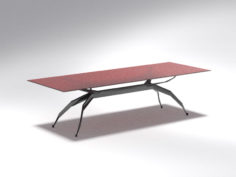 Modern futuristic Table Free 3D Model