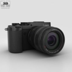 Panasonic Lumix DMC-GX8 Black 3D Model
