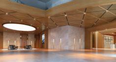 Big Hall of Office 3D Model