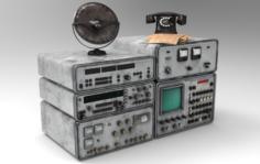 Radio ussr 3D Model