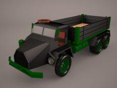 Panzer-Division 3D Model