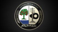 Amg logo 3D Model
